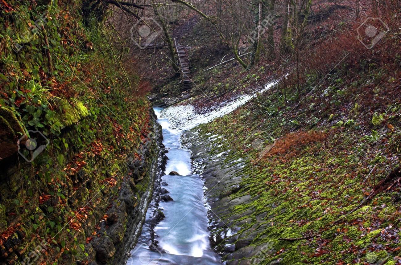 Waterfall stream Stock Photo - 357845