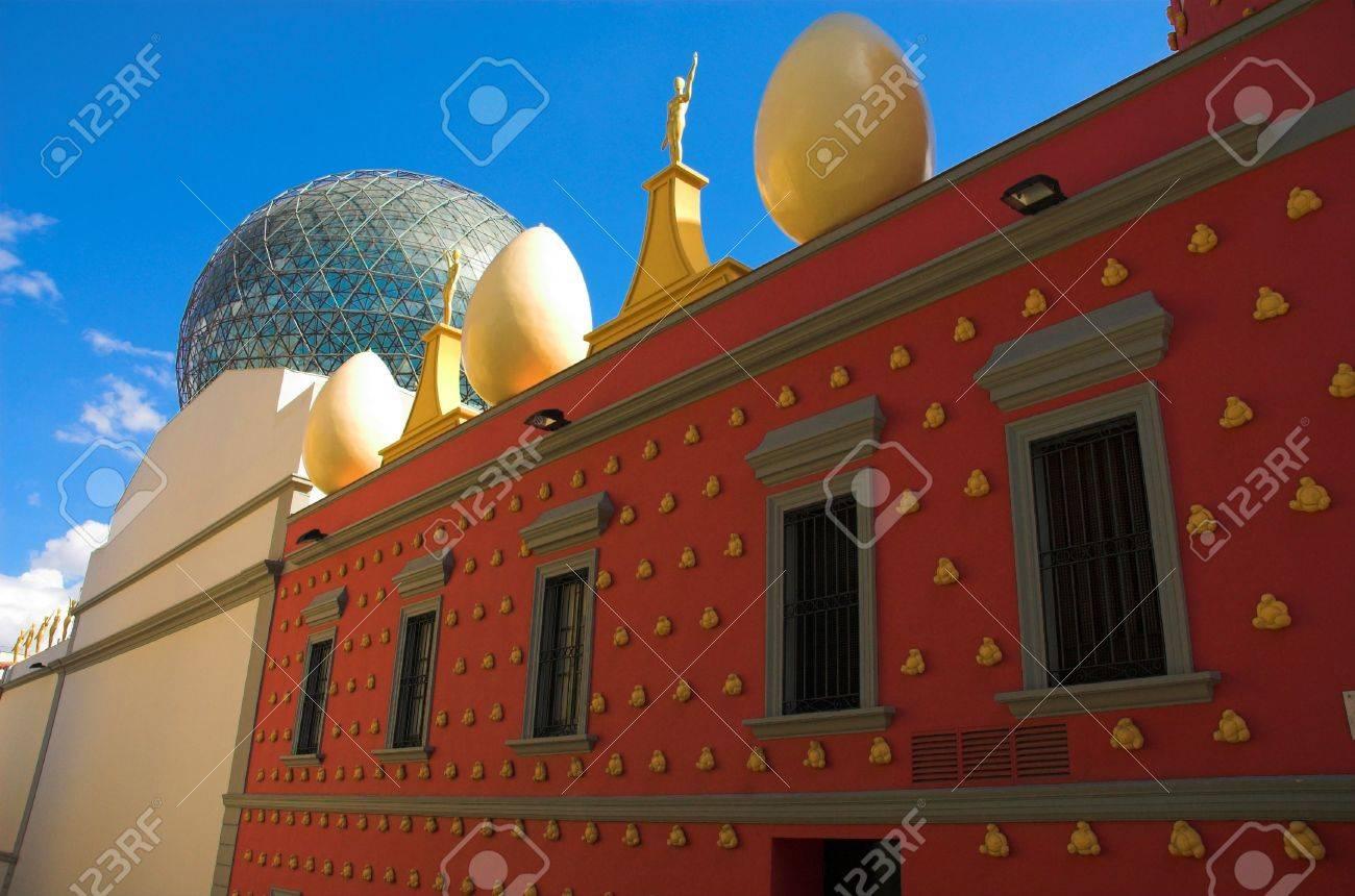 Eggs on the Dali's theatre, Figeros, Spain Stock Photo - 764353