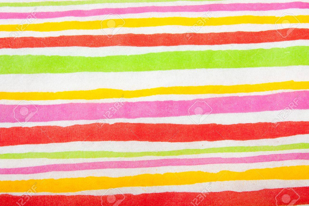 Bright pinstripe pattern or serviette. make from paper Stock Photo - 9535974