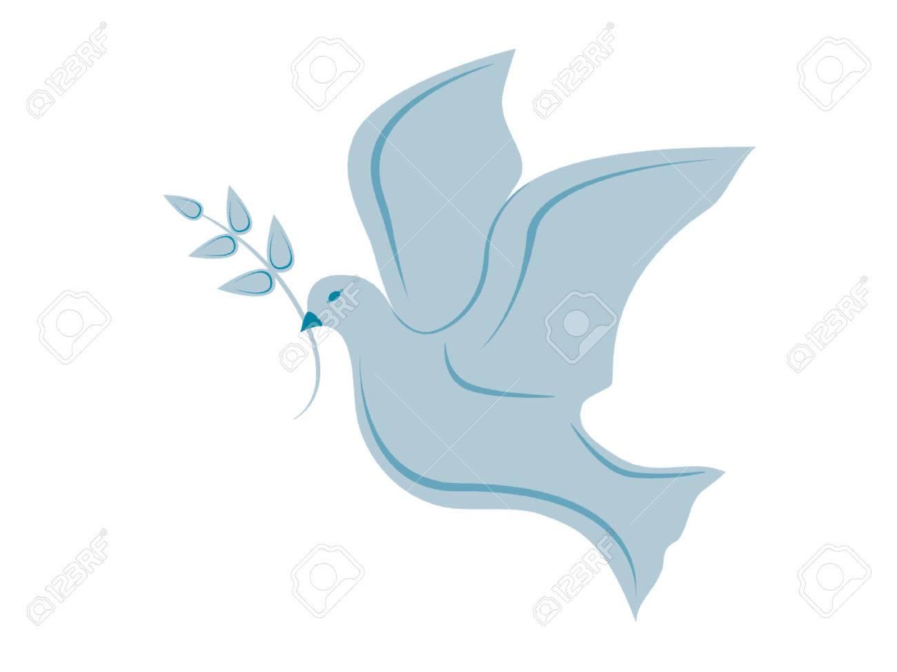 Vector - dove of peace...
