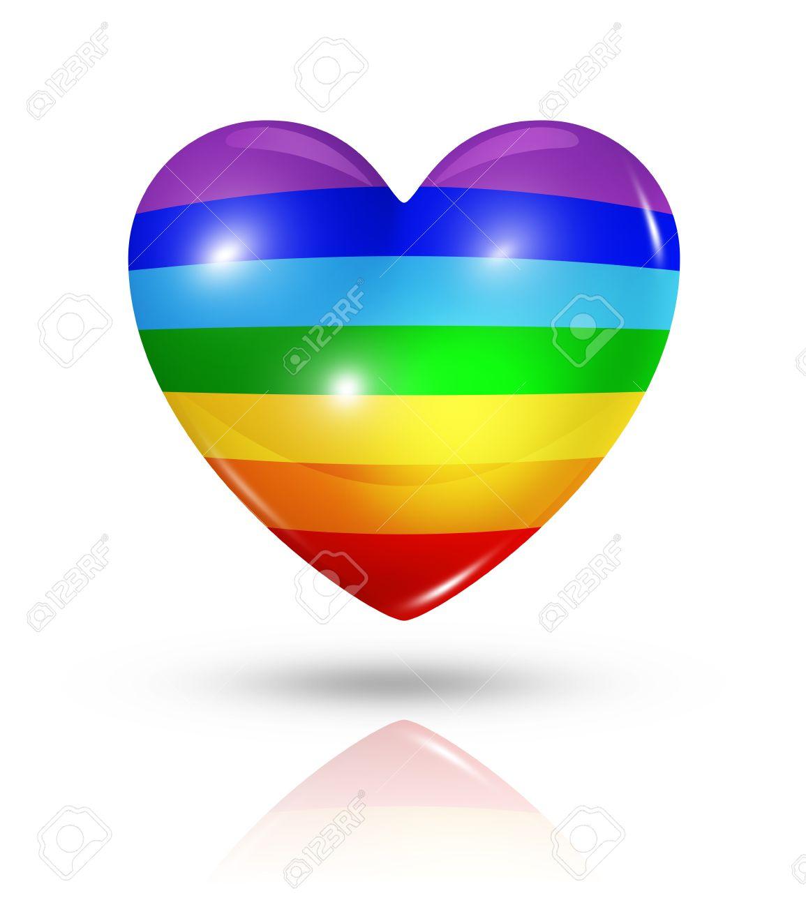 Love peace symbol 3d rainbow heart flag stock photo picture and love peace symbol 3d rainbow heart flag stock photo 22160335 biocorpaavc