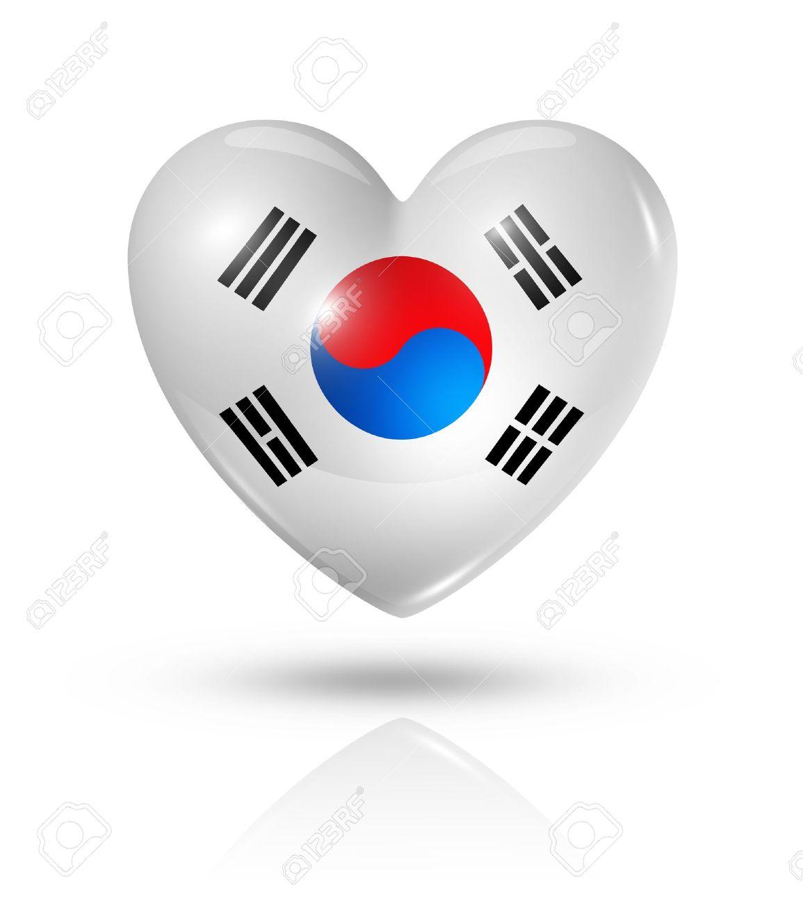Love south korea symbol 3d heart flag stock photo picture and love south korea symbol 3d heart flag stock photo 22160344 buycottarizona Choice Image
