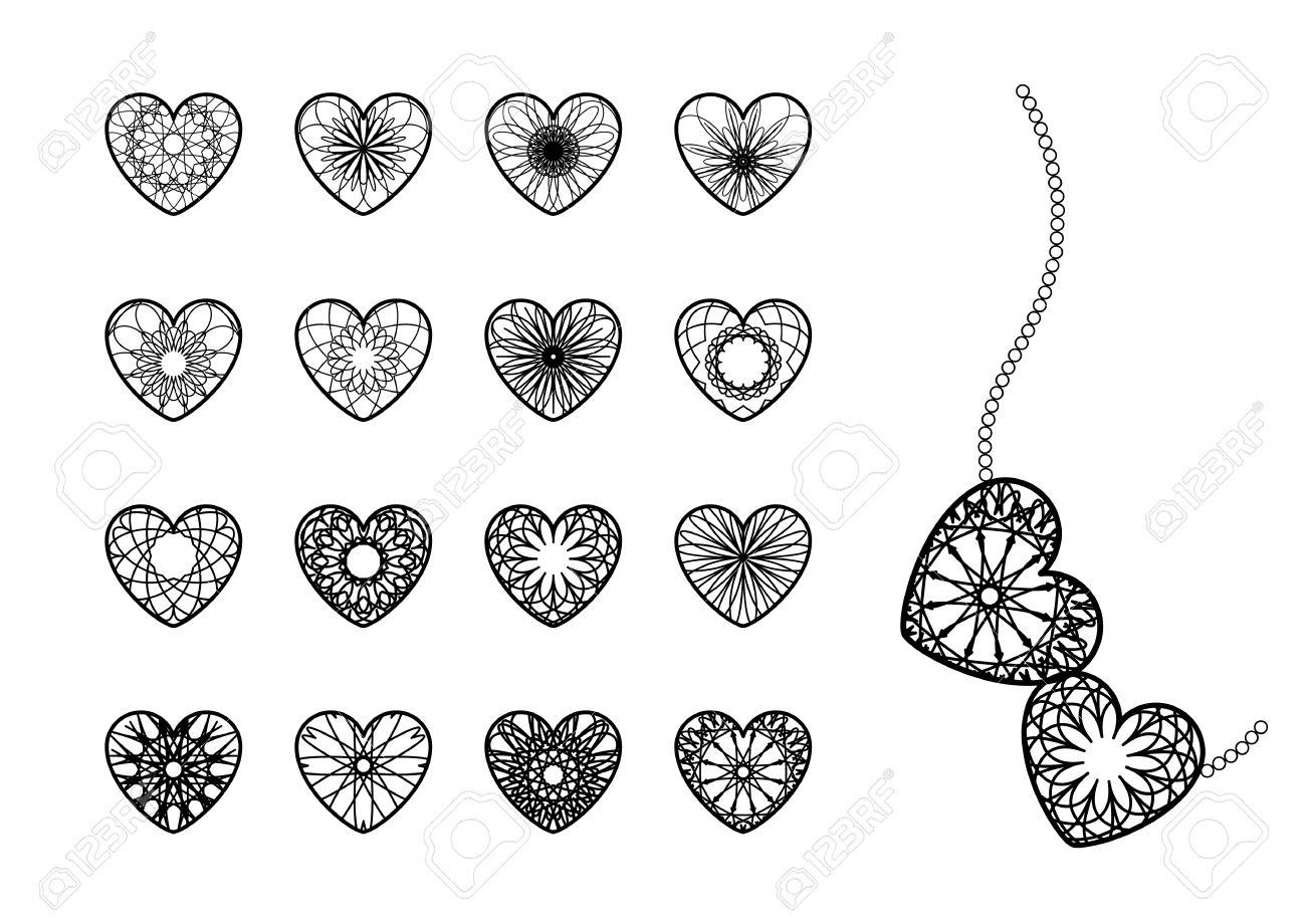 Ornamental heart symbols royalty free cliparts vectors and stock ornamental heart symbols stock vector 26039244 biocorpaavc