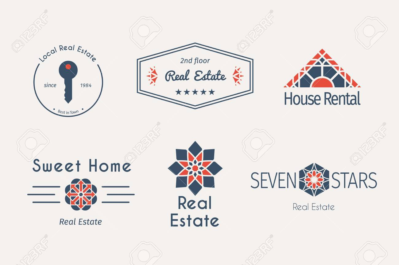 Vector Ethnic Ornamental Design For Agency, House And Apartment