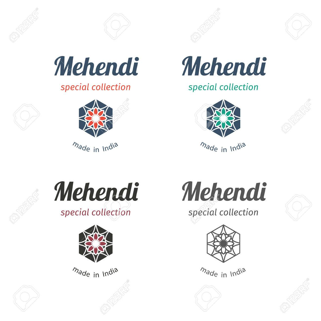 555587a27636 Asian fashion shops logo templates set. Vector ethnic ornamental design for  clothing and accessories boutiques