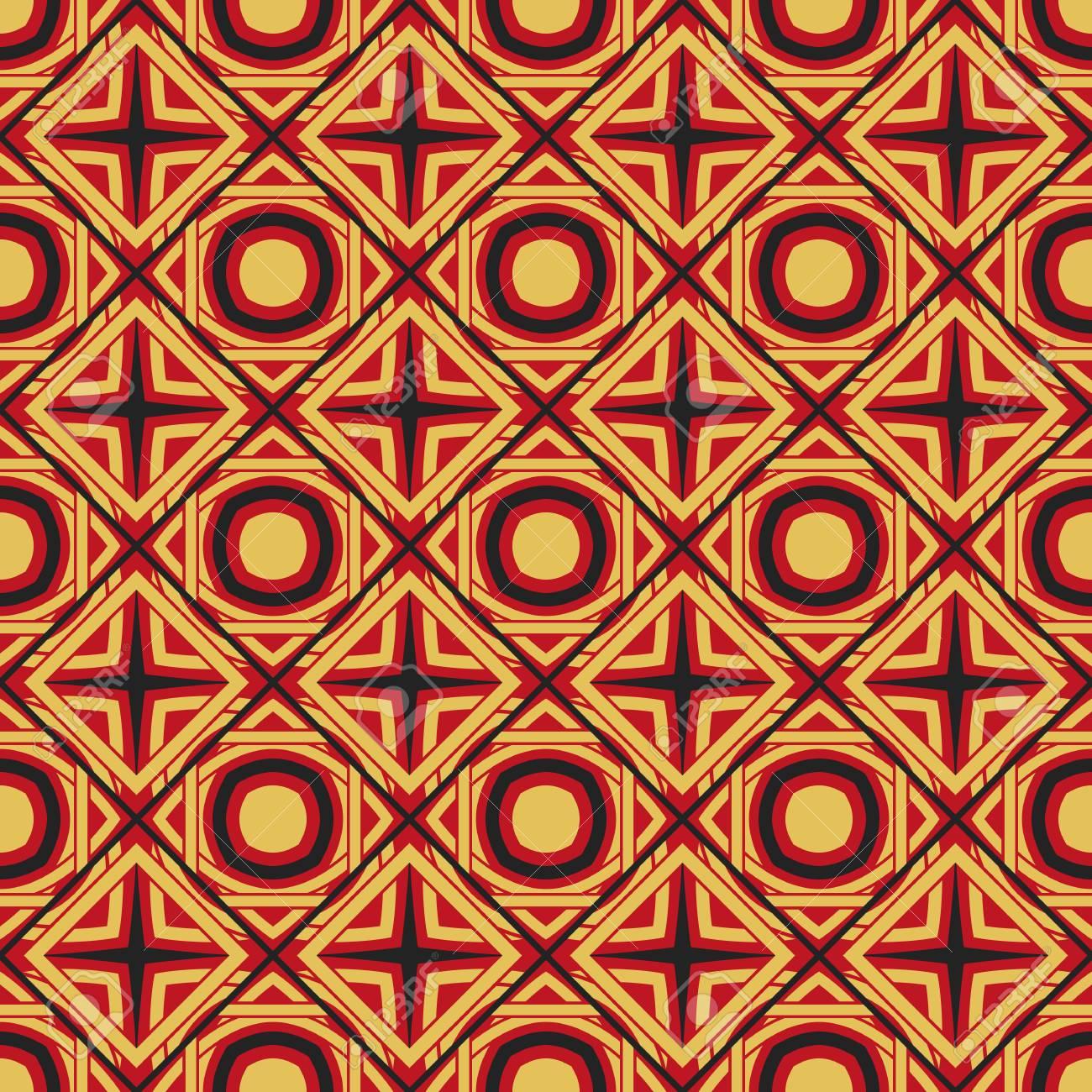 Vector Asian Geometric Pattern - 126016327