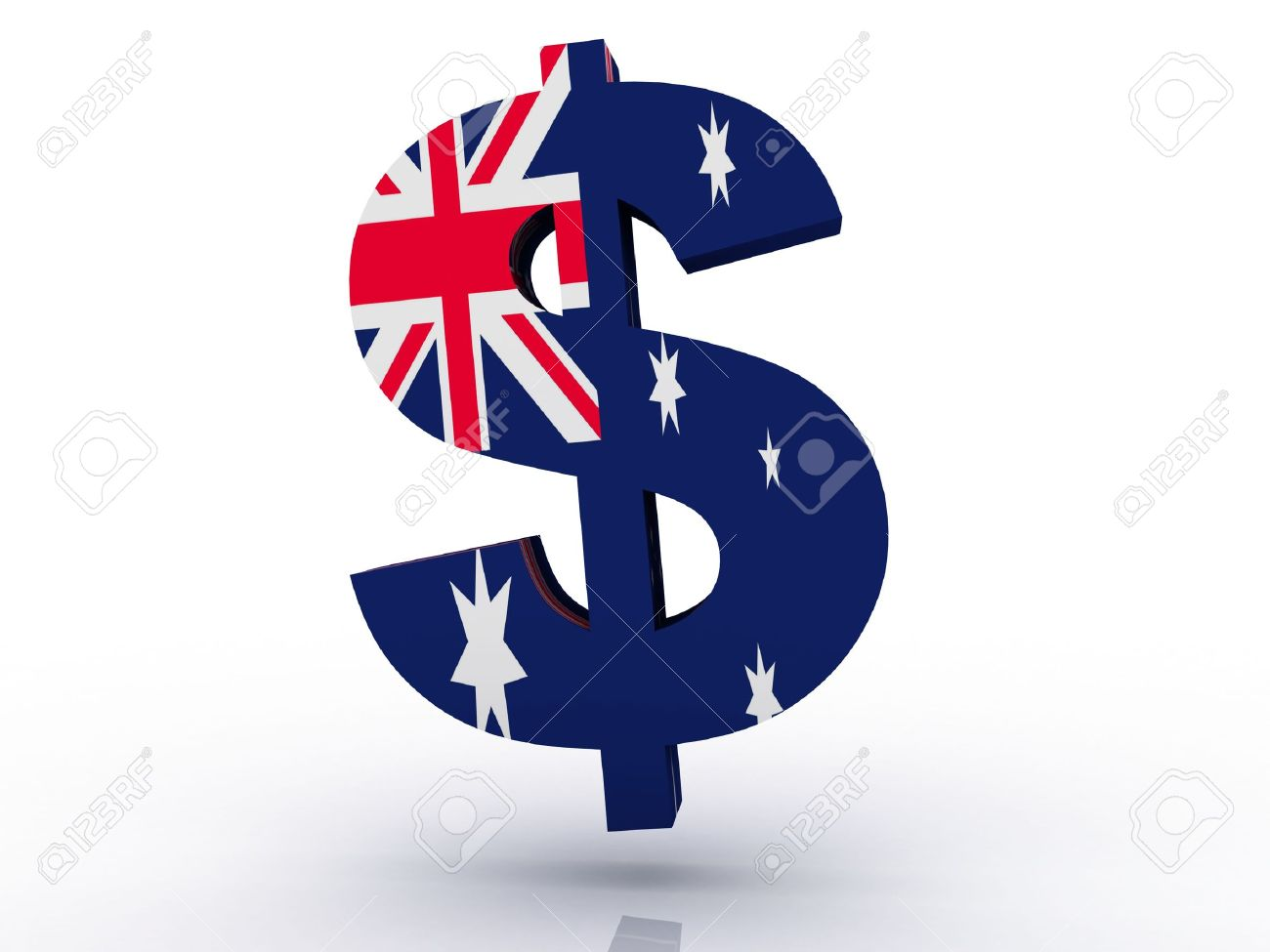 Australian Dollar Symbol Stock Photo Picture And Royalty Free Image