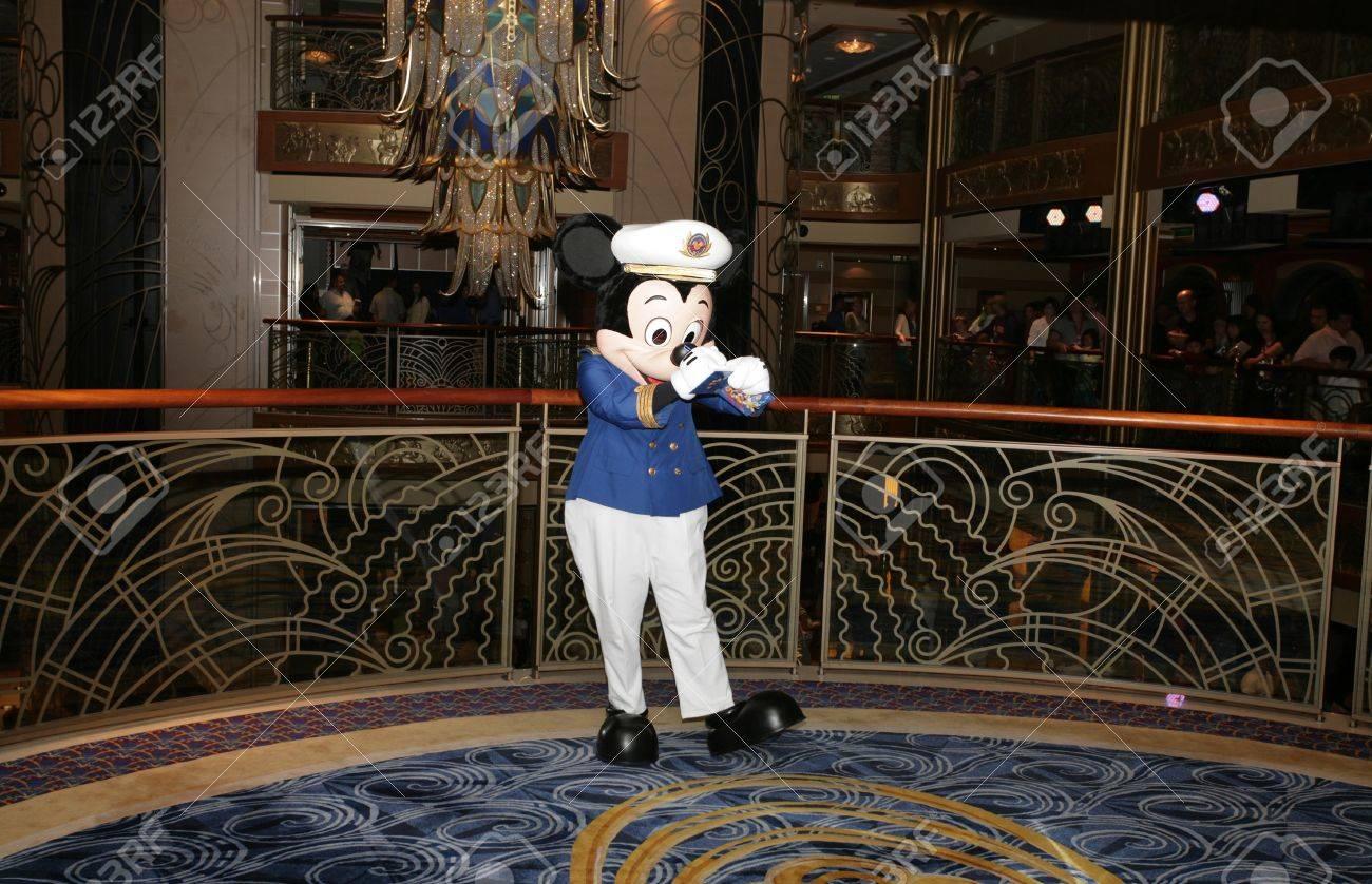 Orlando Fl Feb 3 Popular Cartoon Character Mickey Mouse Stock