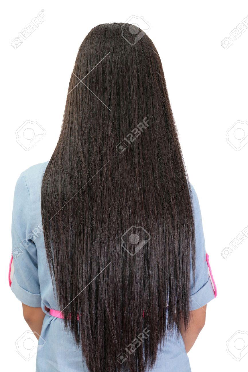 Fashion week Straight long hair for lady