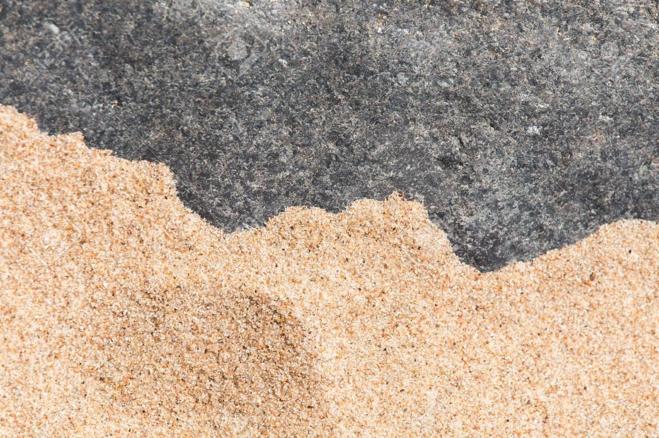 Immagini Stock Uno Sfondo Astratto Di Una Sabbia Di Mare E Forme