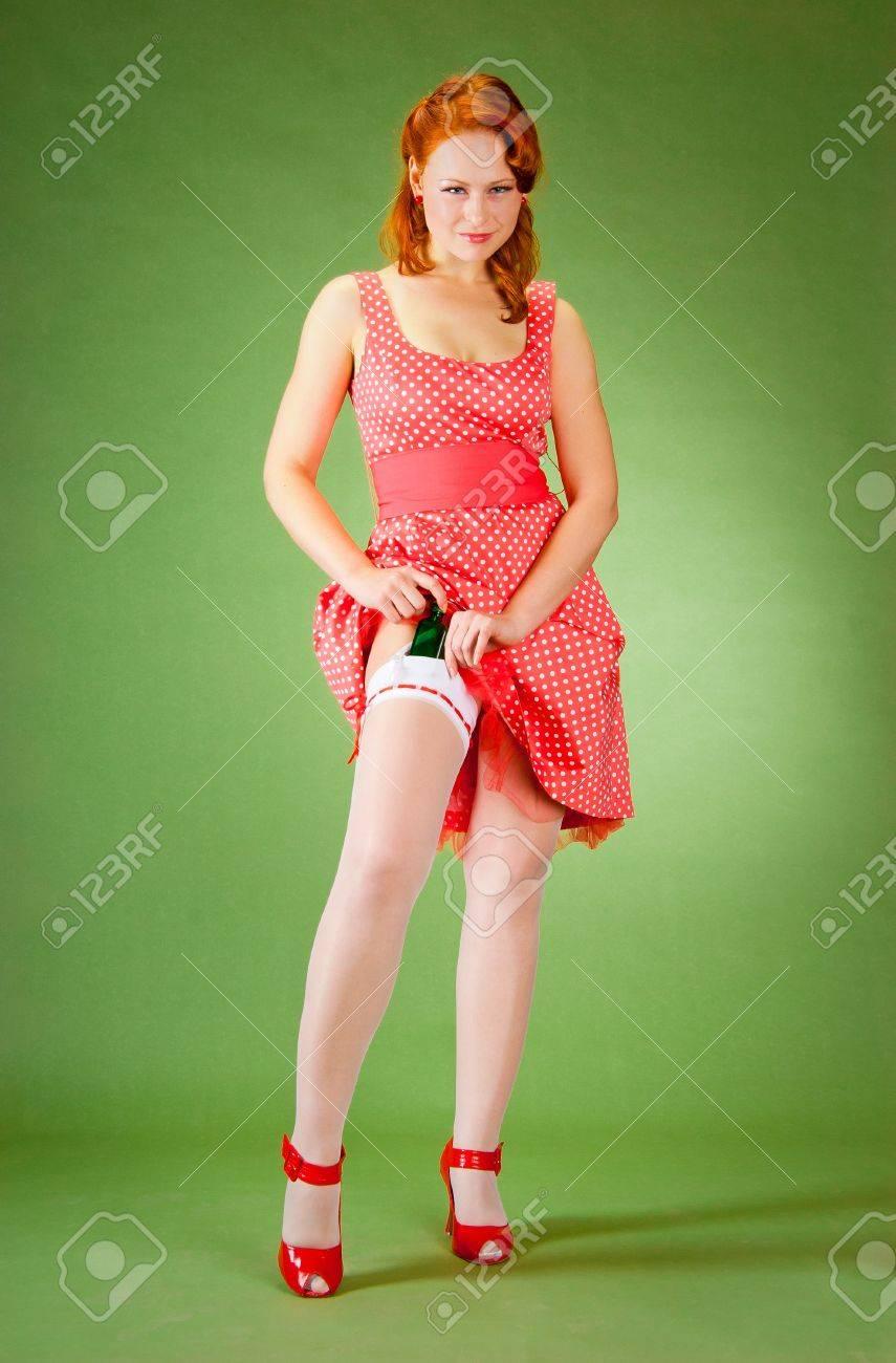 Рыжие девушки пин ап фото 23 фотография