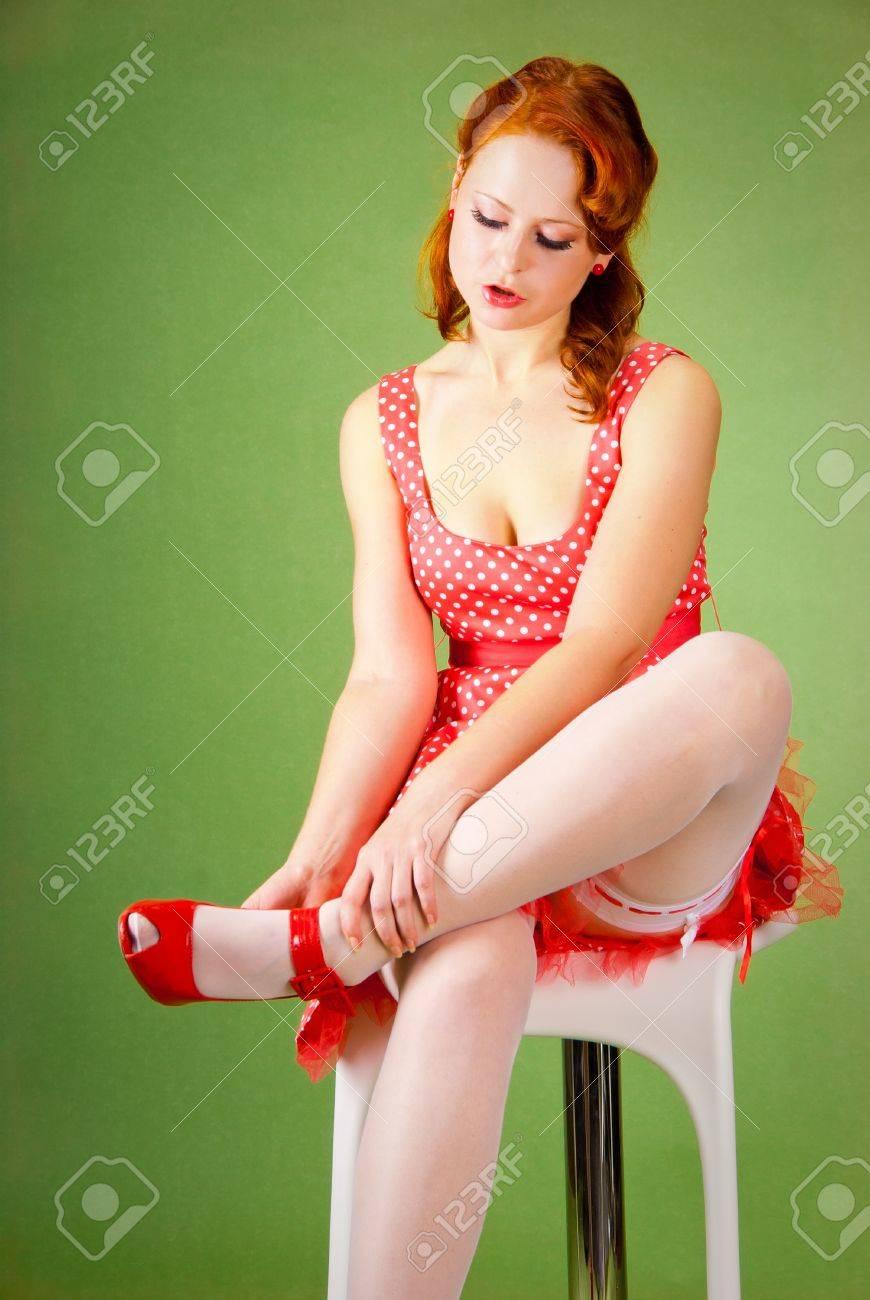 Рыжие девушки пин ап фото 21 фотография