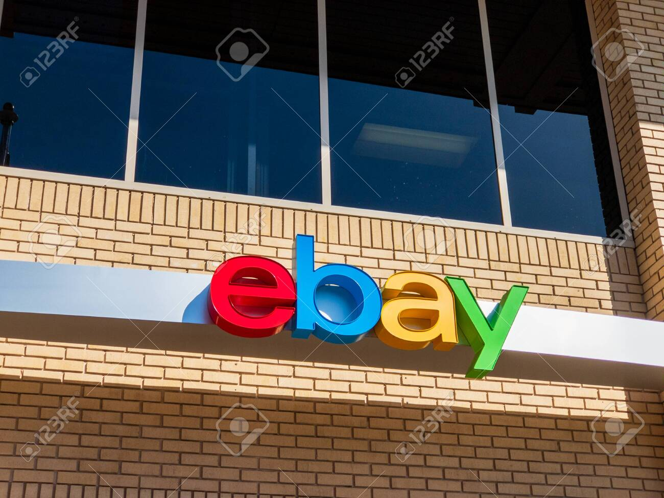 San Jose Usa September 10 2018 Ebay Outdoor Logo At Company Stock Photo Picture And Royalty Free Image Image 138851147