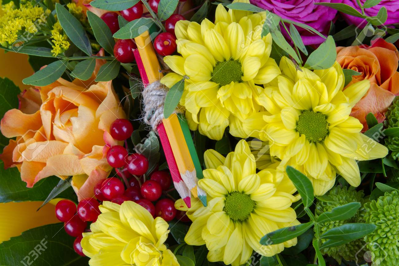 A bouquet of different flowers background closeup stock photo a bouquet of different flowers background closeup stock photo 68488551 izmirmasajfo