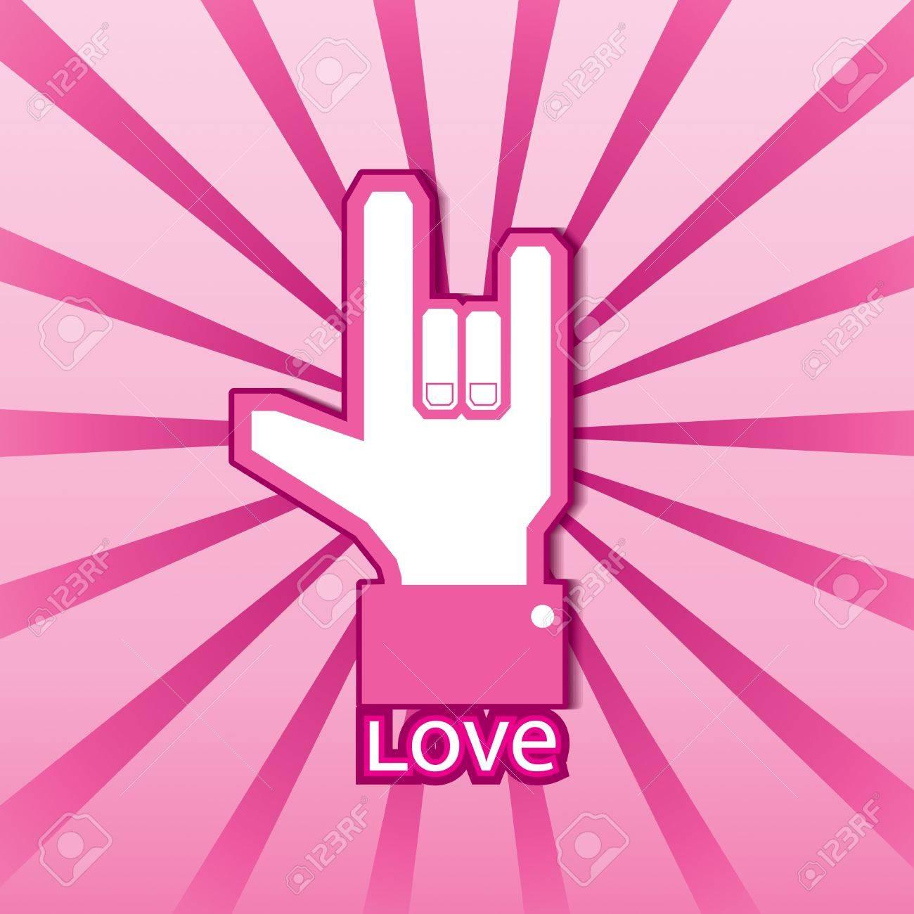 Love symbol Stock Vector - 15400659