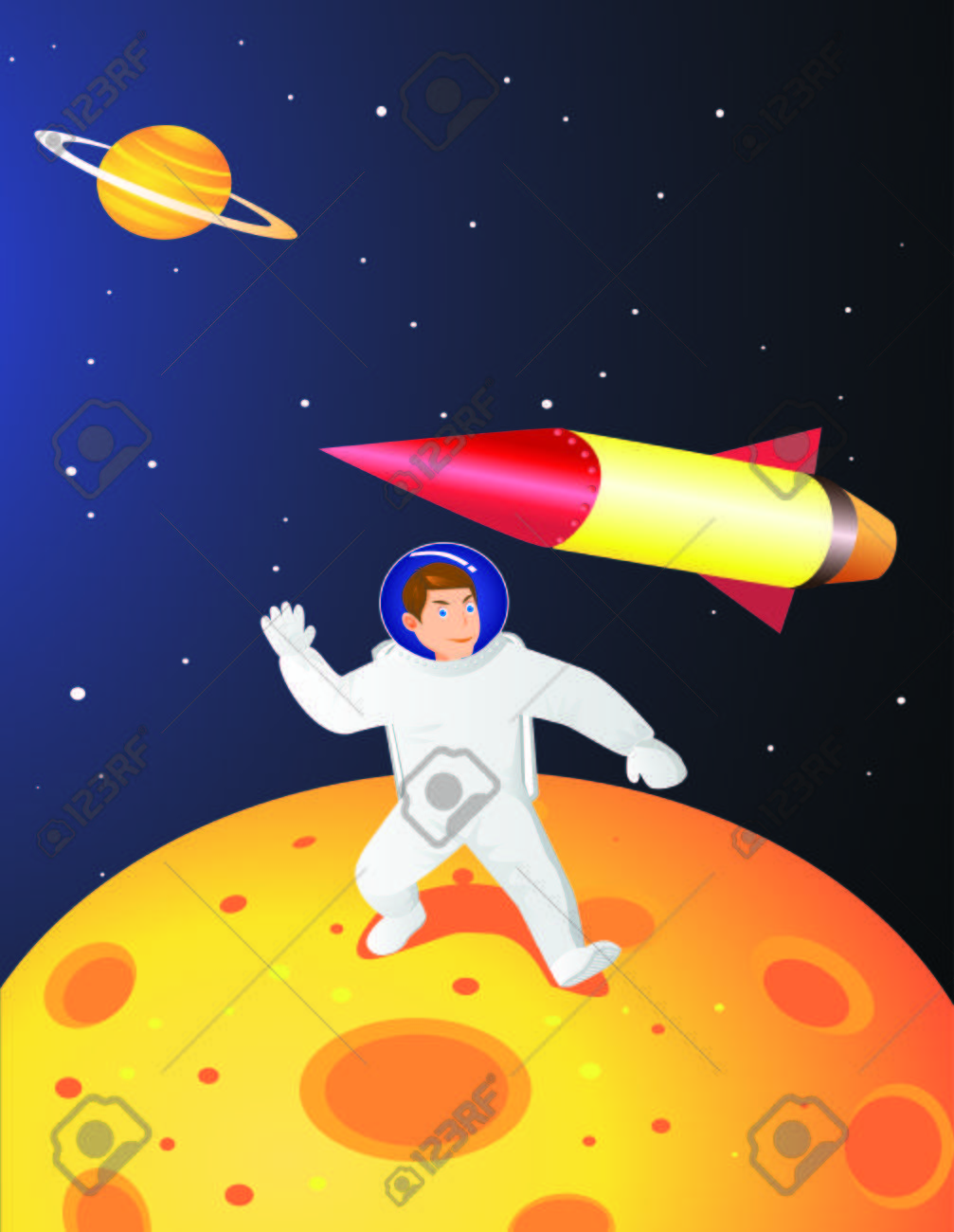 Astronaut Stock Vector - 5738126