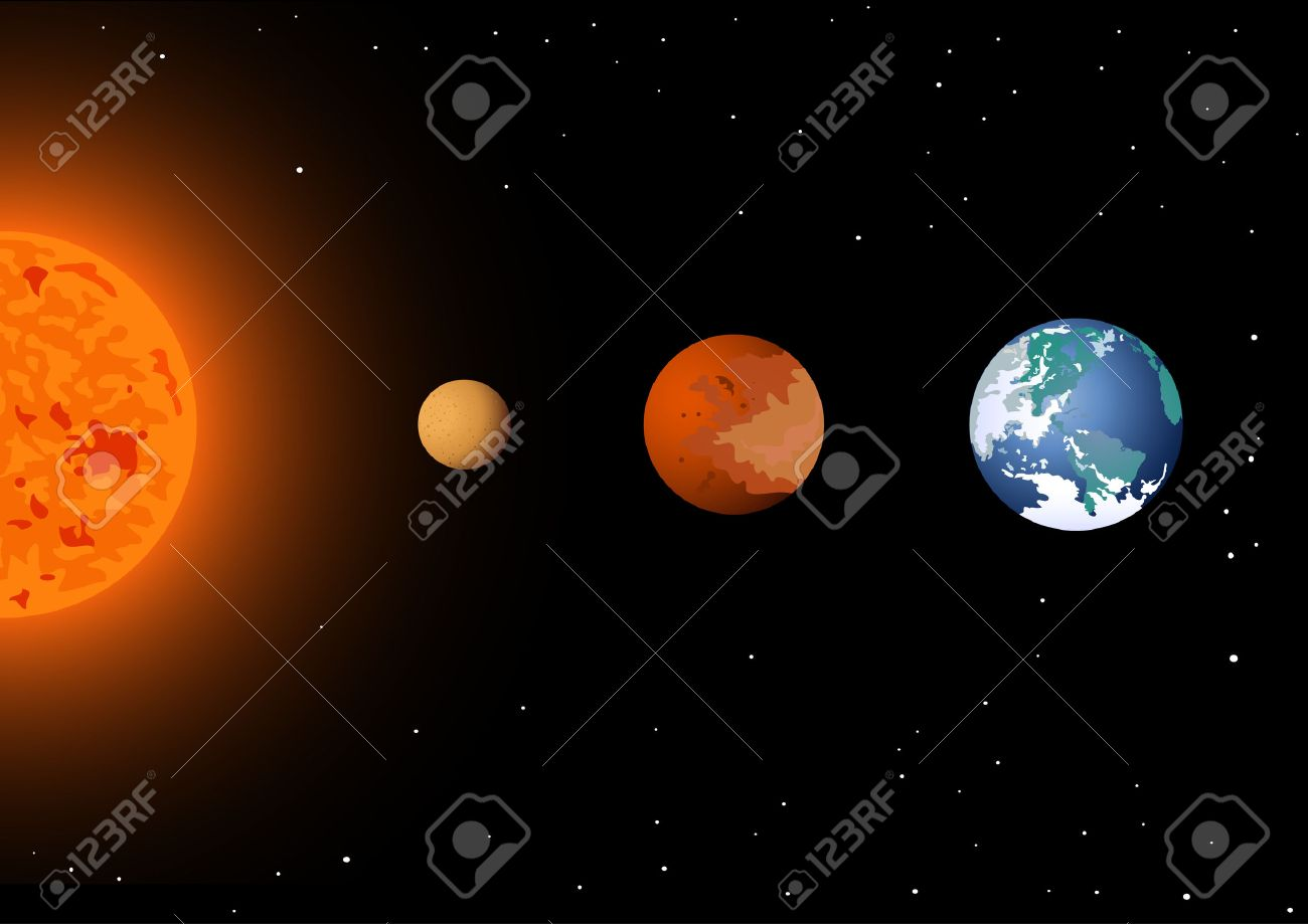 Three Planet Conjunction