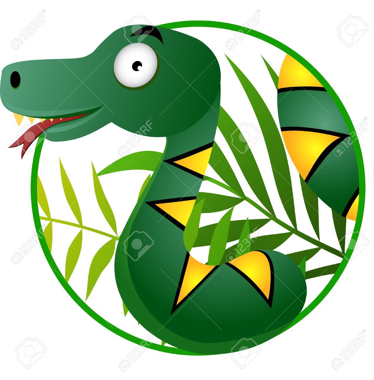 Snake cartoon Stock Vector - 6898613