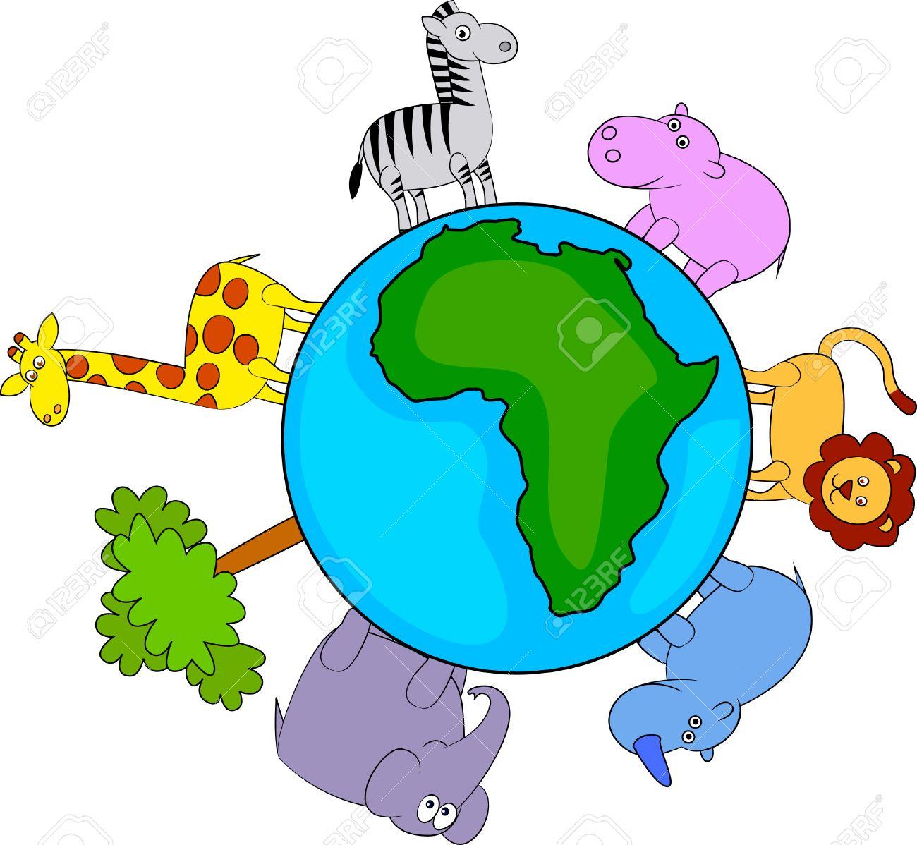 animal africa Stock Vector - 8249310
