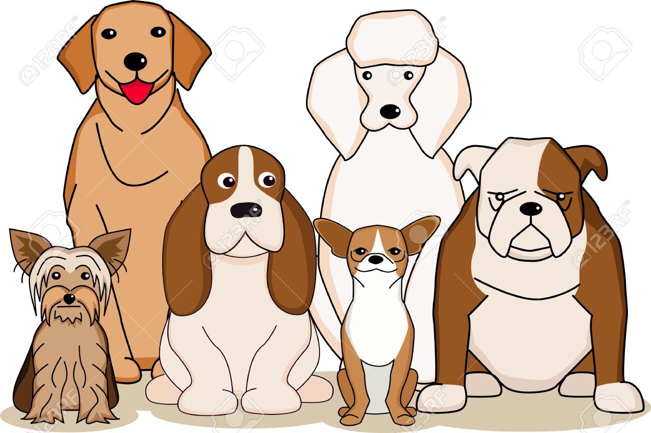 dog cartoon Stock Vector - 8660699