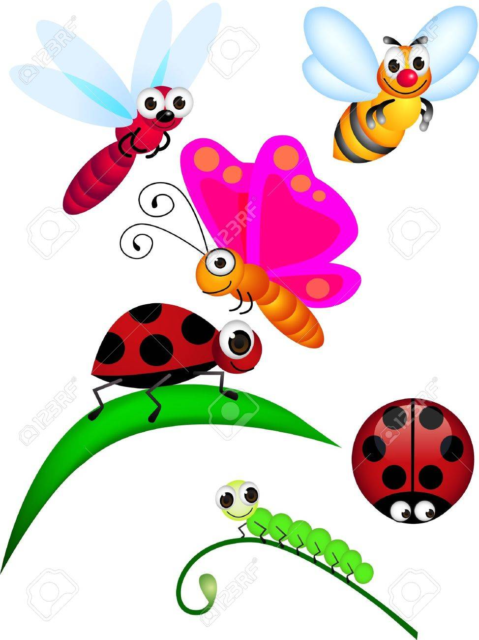 Cute insect Stock Vector - 9145753