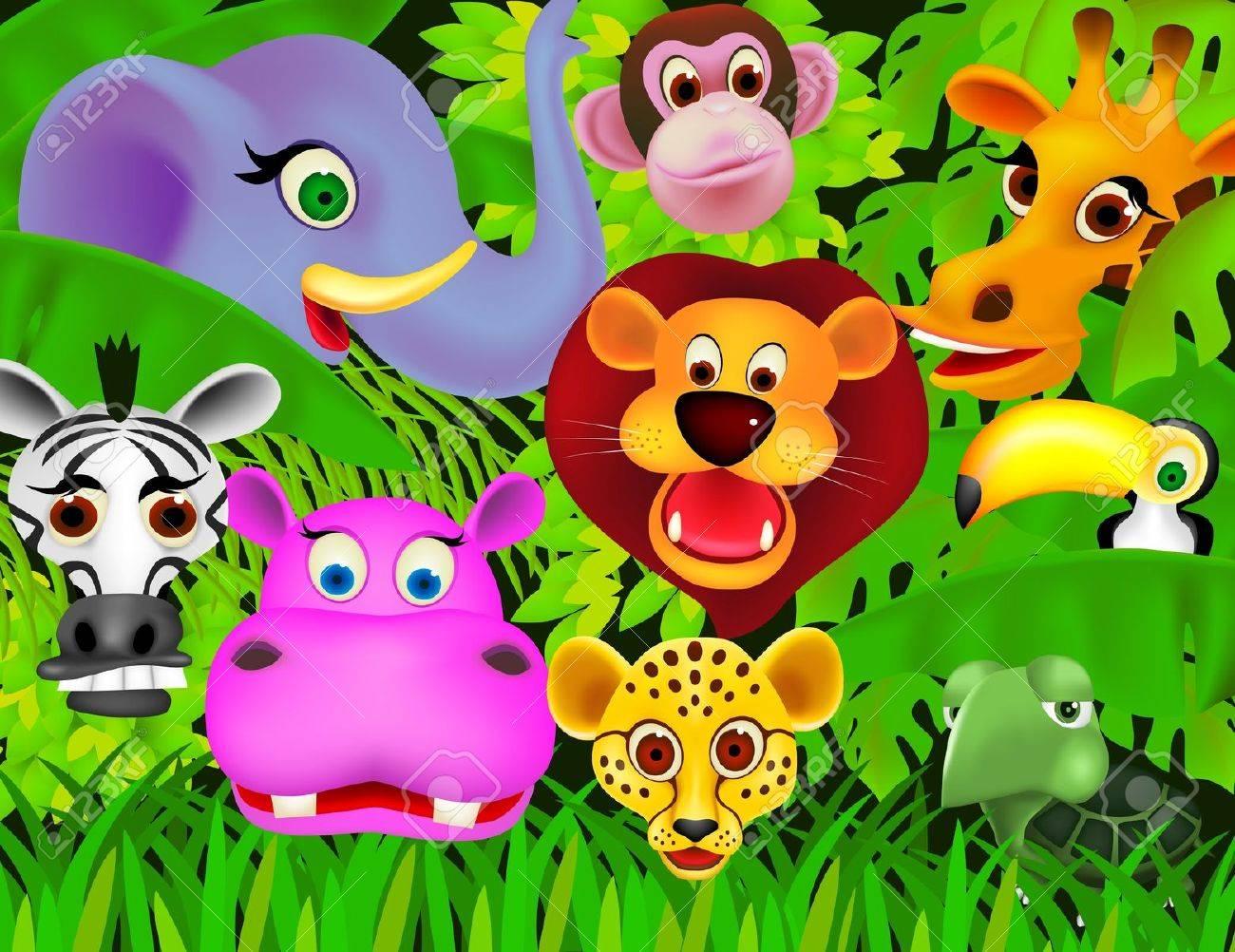 animal cartoon Stock Vector - 9206912