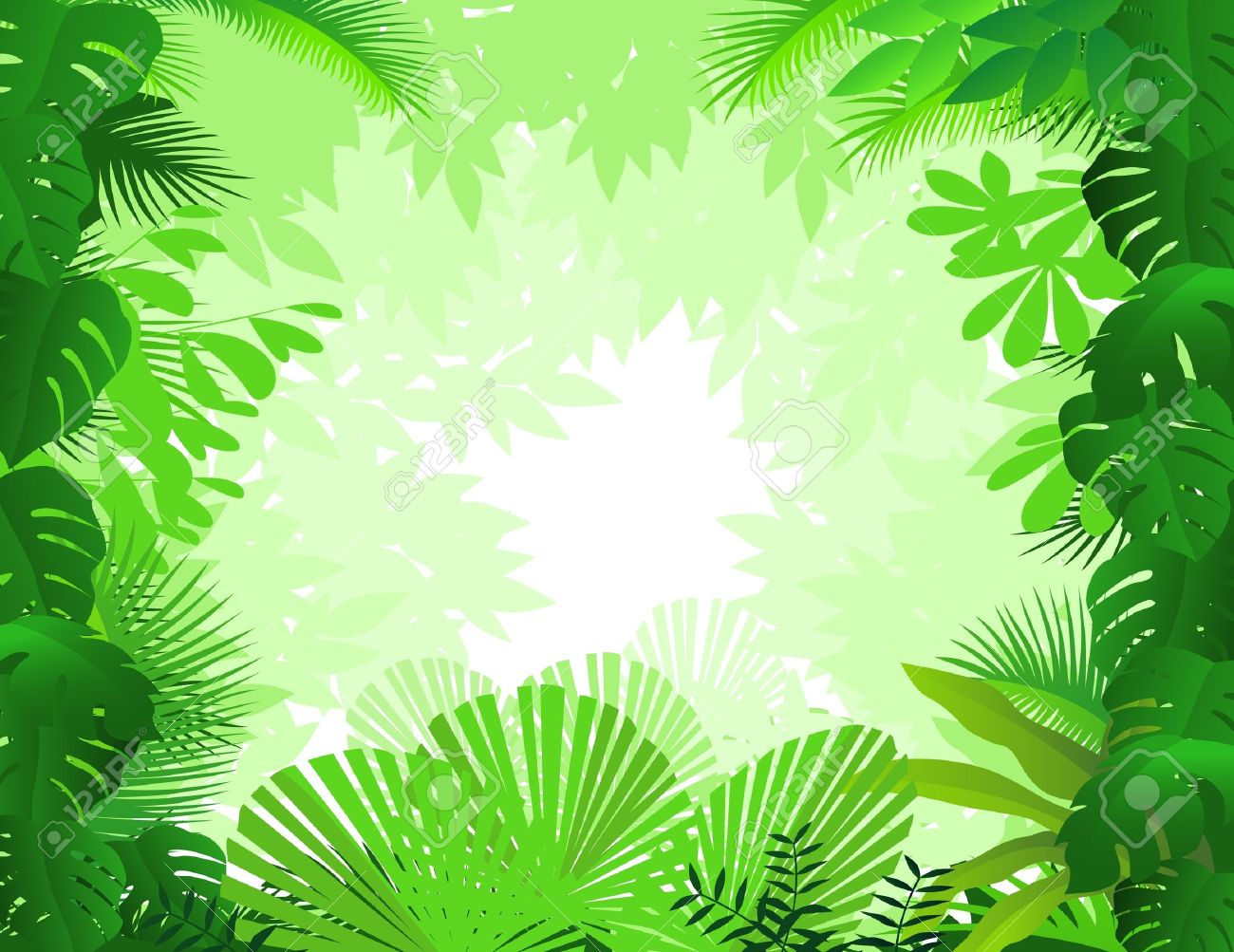 forest background Stock Vector - 9508686
