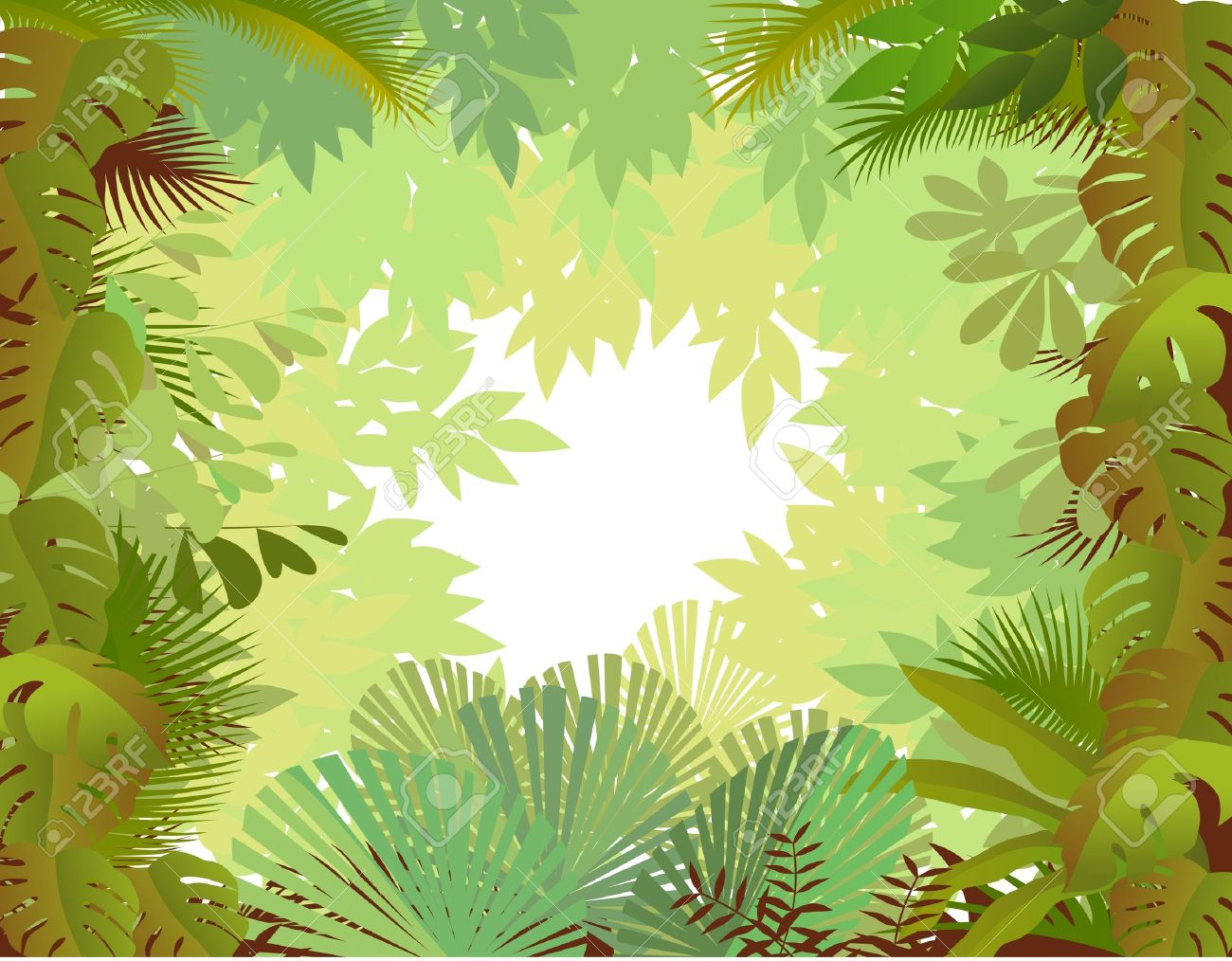 forest background Stock Vector - 9508684