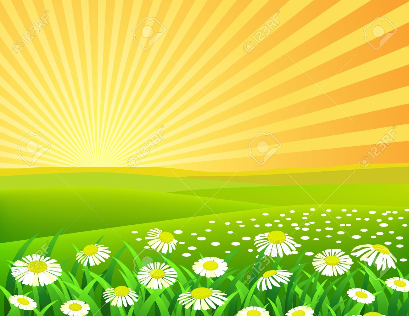 Nature Background Royalty Free Cliparts Vectors And Stock