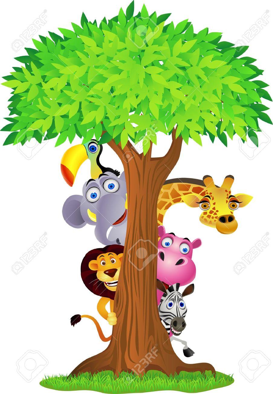 animal cartoon - 9699001