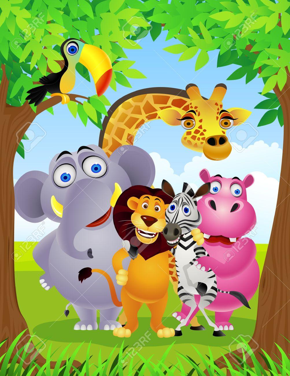 animal cartoon Stock Vector - 9699000