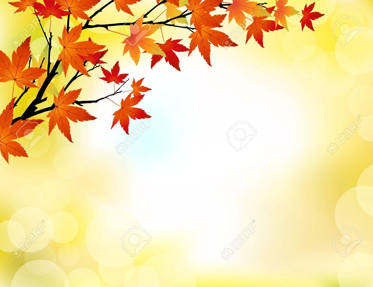 Autumn background Stock Vector - 10232693