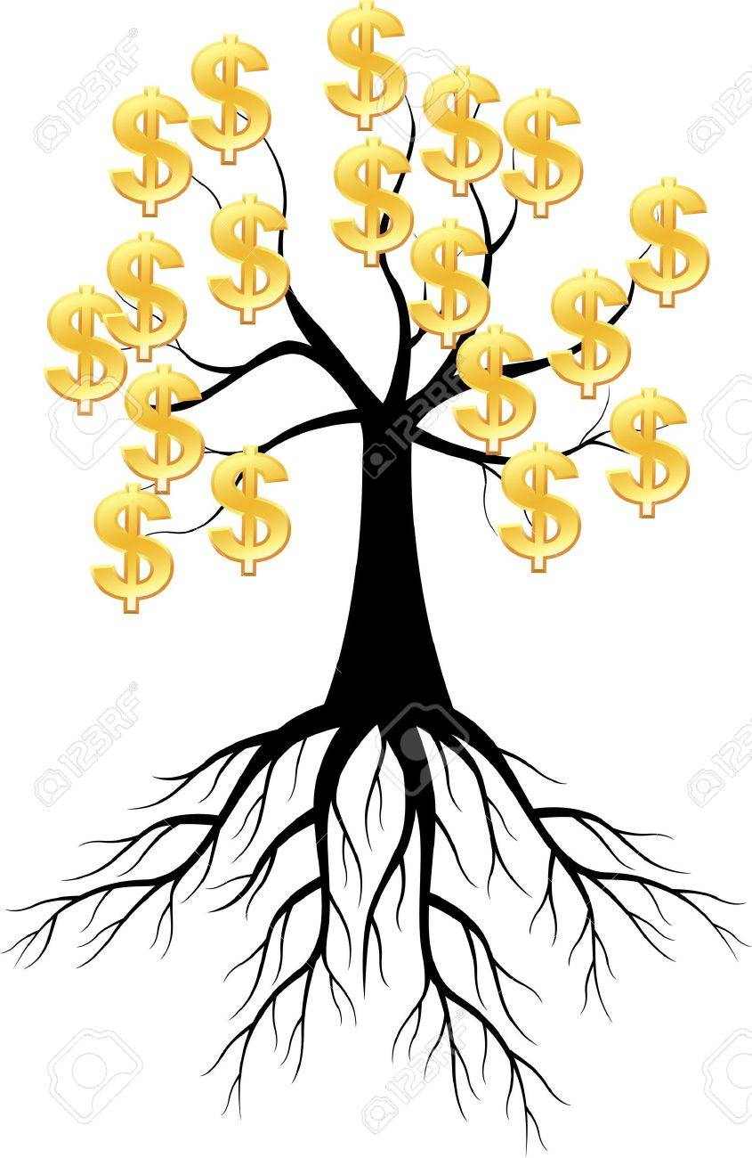Dollar tree Stock Vector - 12150908