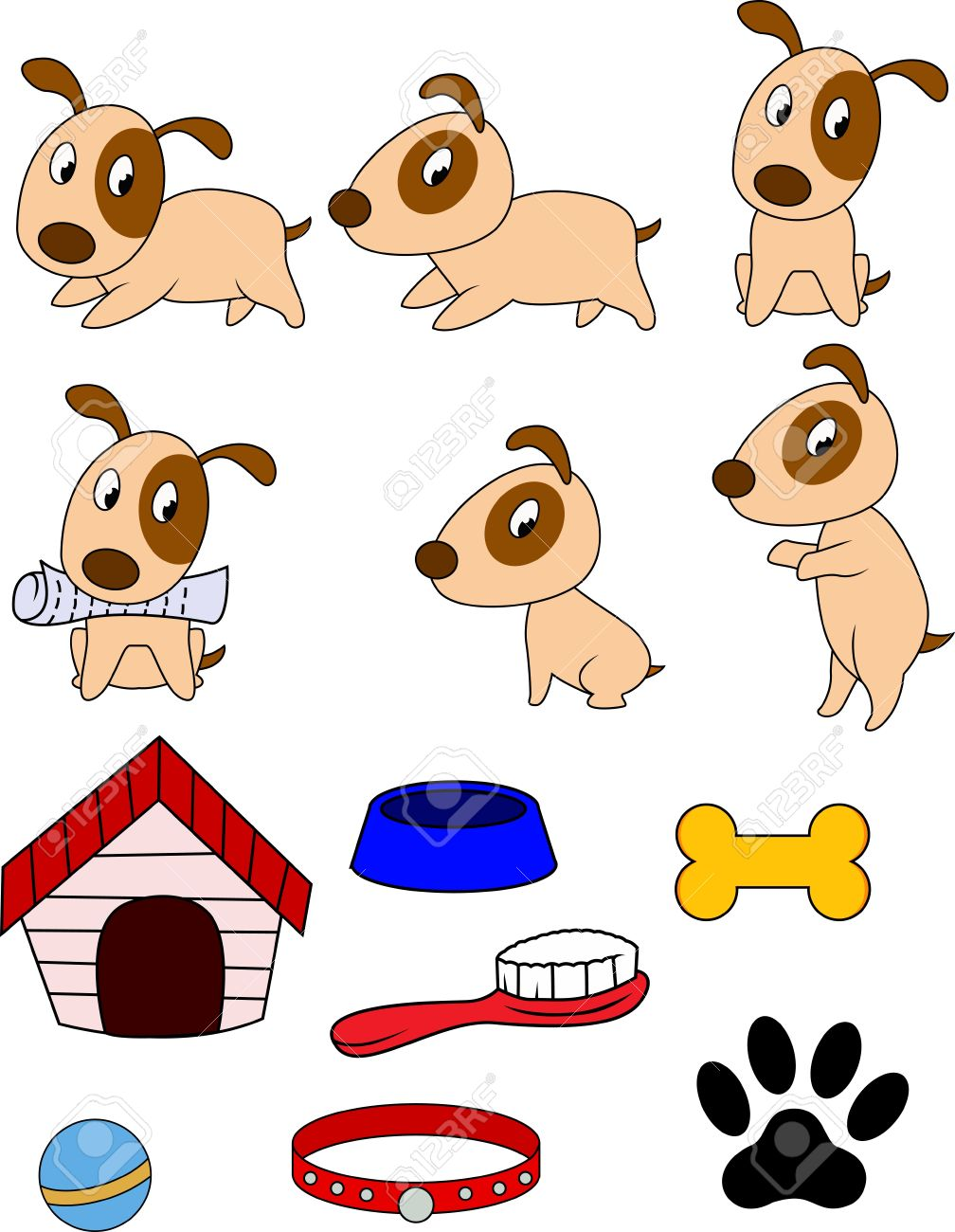Dog cartoon Stock Vector - 12152499
