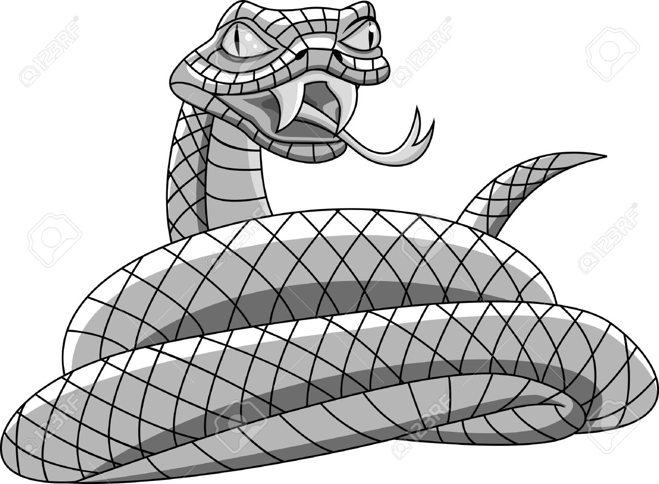 933 Rattlesnake Stock Vector Illustration And Royalty Free ...