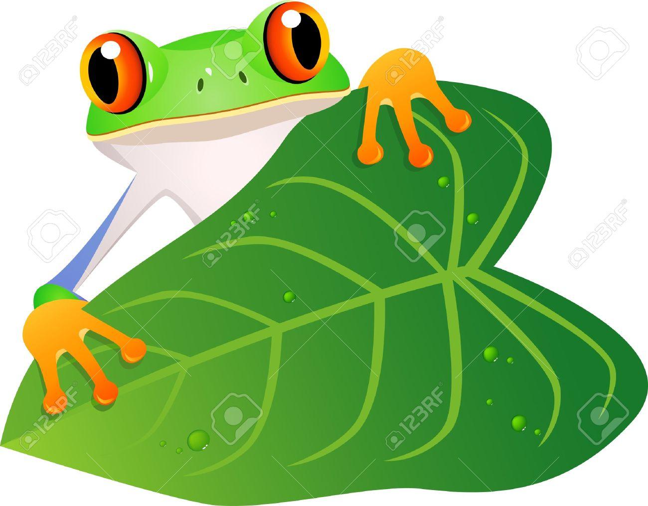 Frog cartoon Stock Vector - 12150912