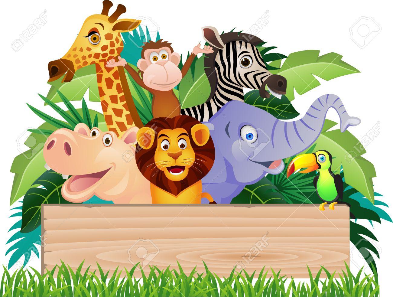 Animal cartoon Stock Photo - 12152654
