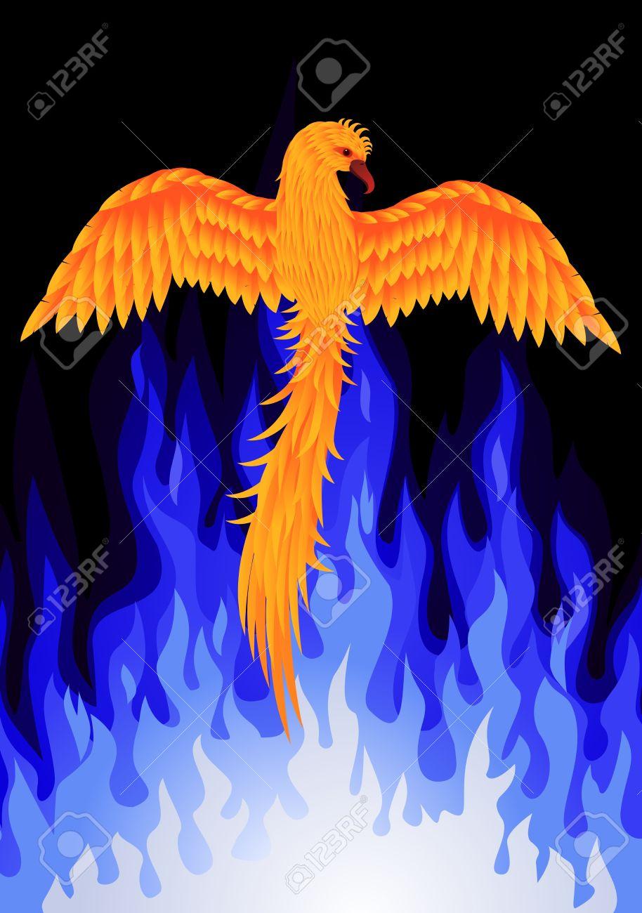 phoenix bird royalty free cliparts vectors and stock illustration
