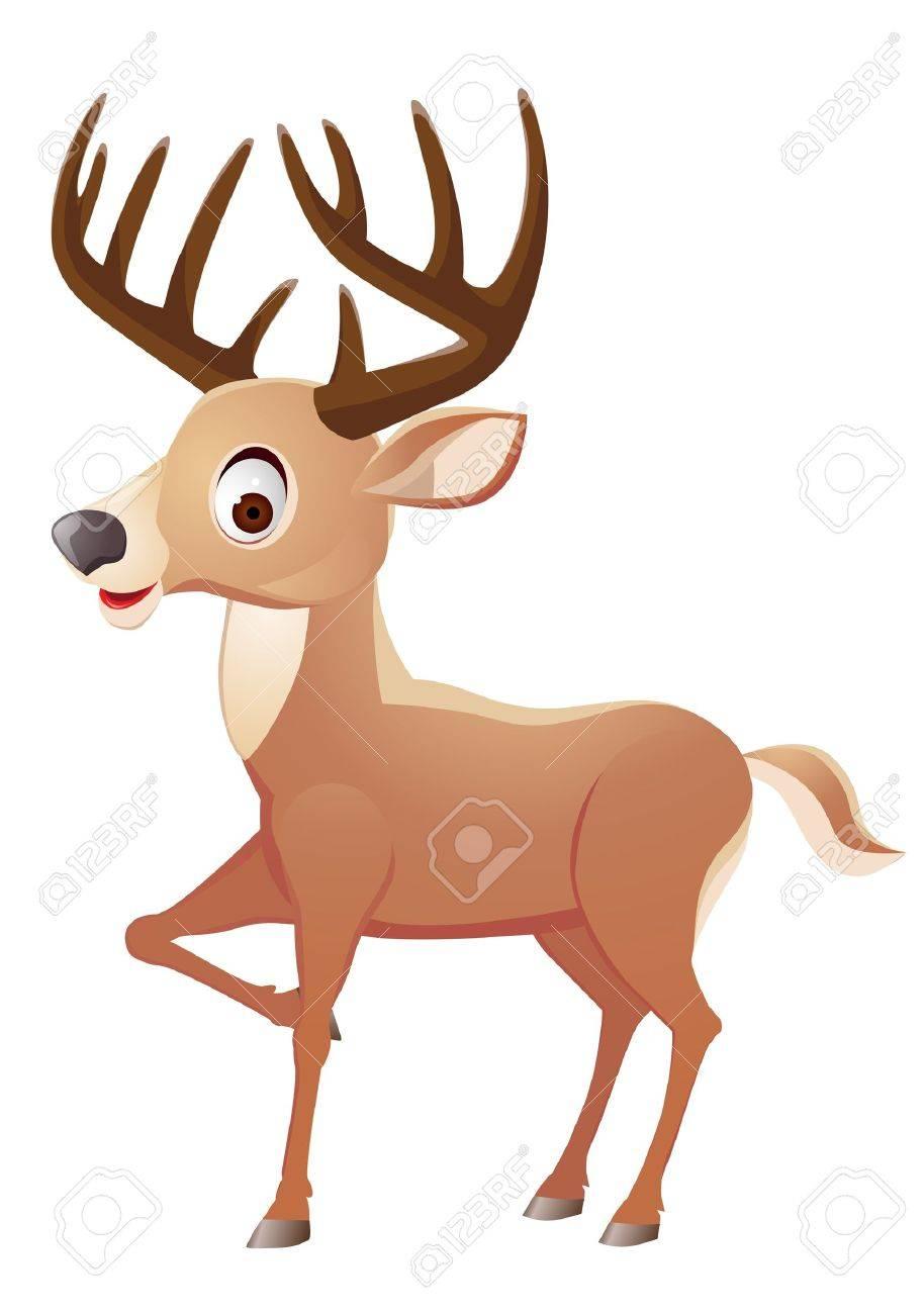 Deer cartoon Stock Vector - 12152615