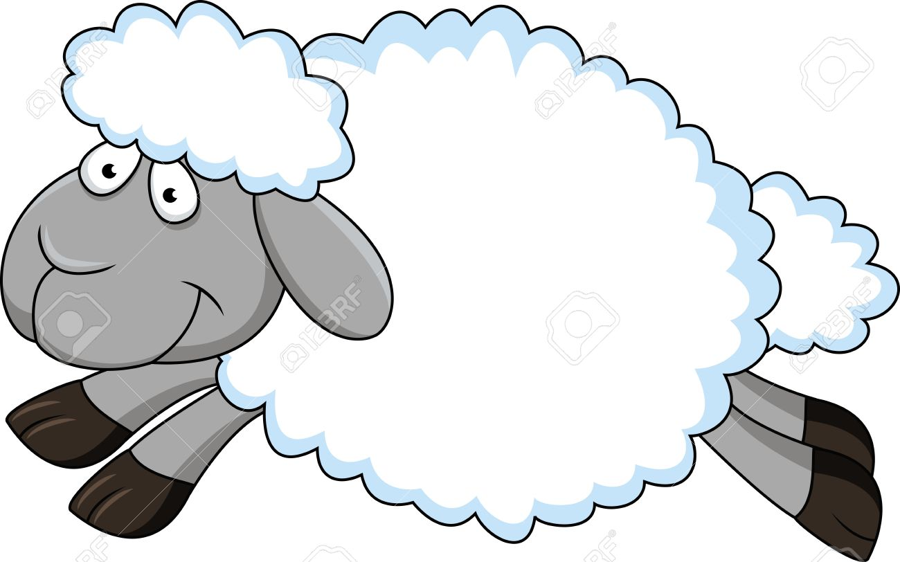 Sheep Cartoon Stock Vector - 13281592