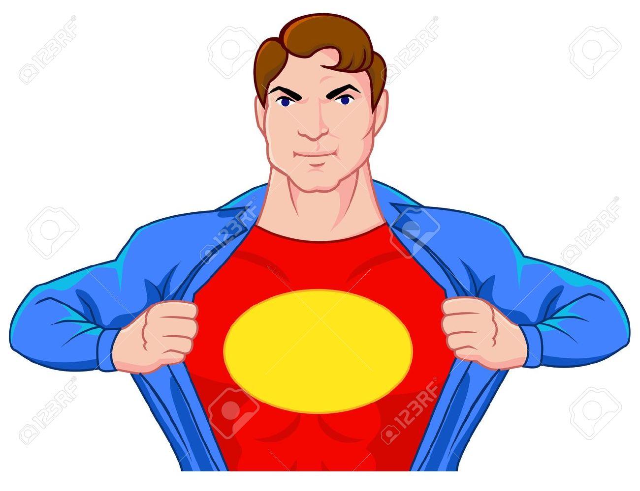 Superhero undercover Superhero