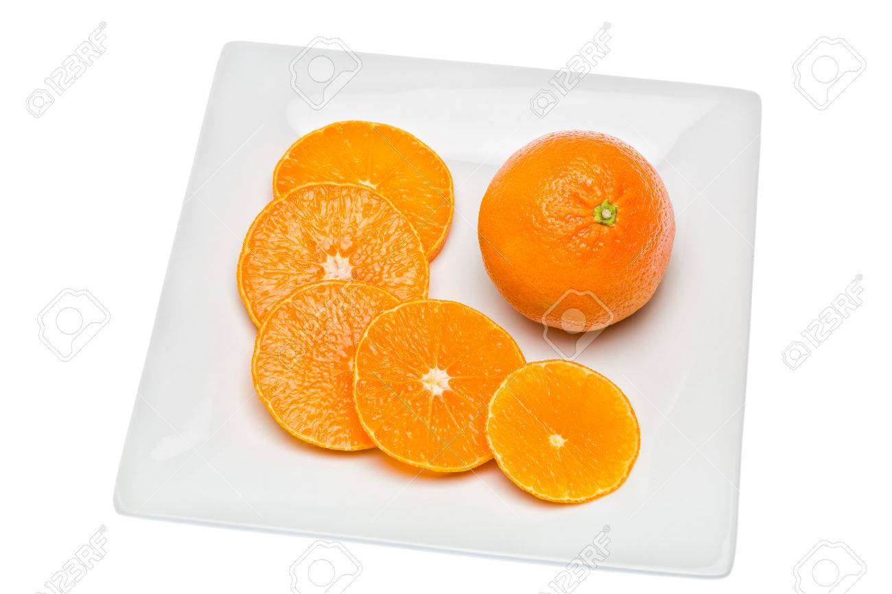 tangerine citrus fruit has a lot of vitamins and low in calories