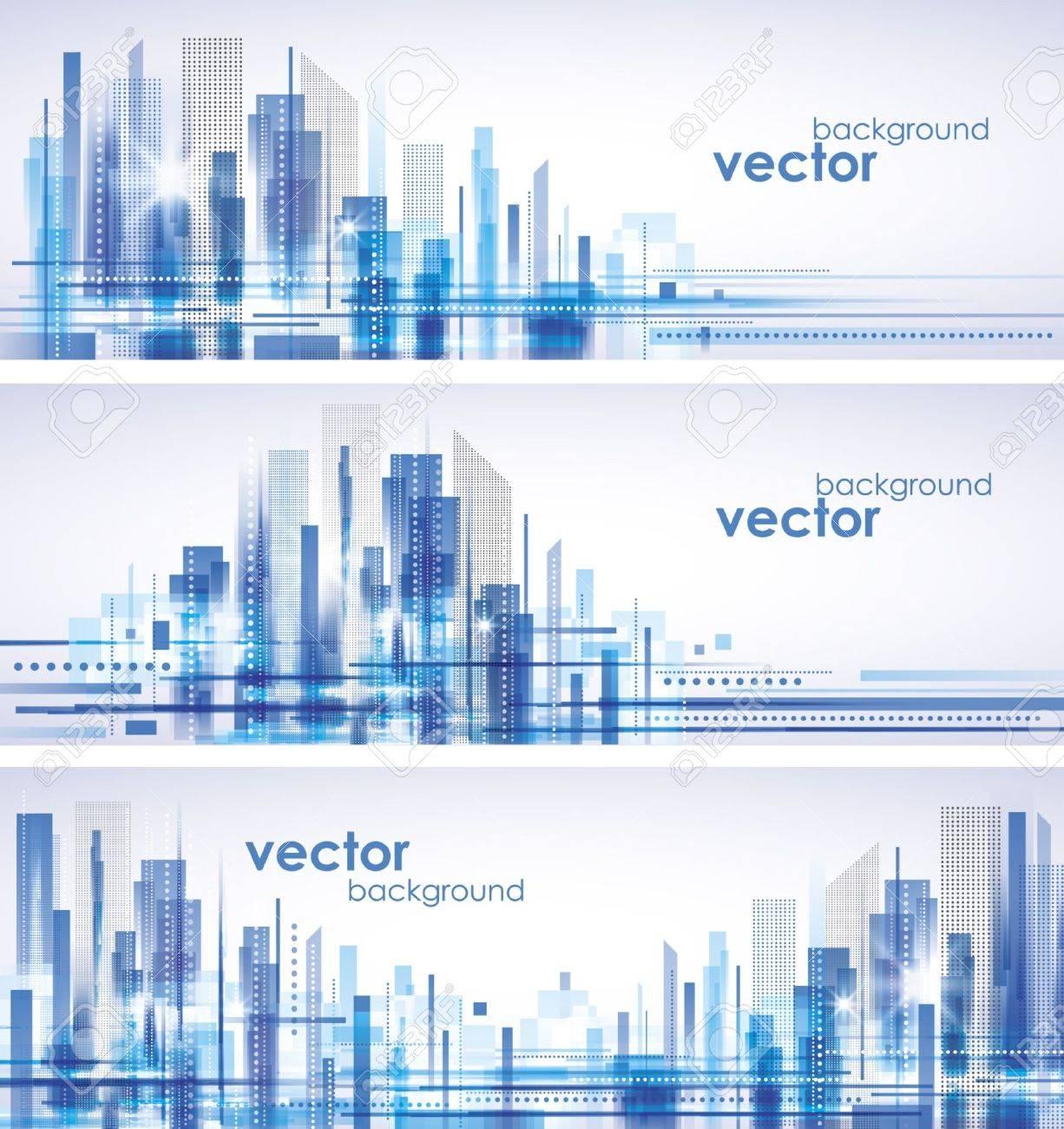 City Landscape Stock Vector - 14937319