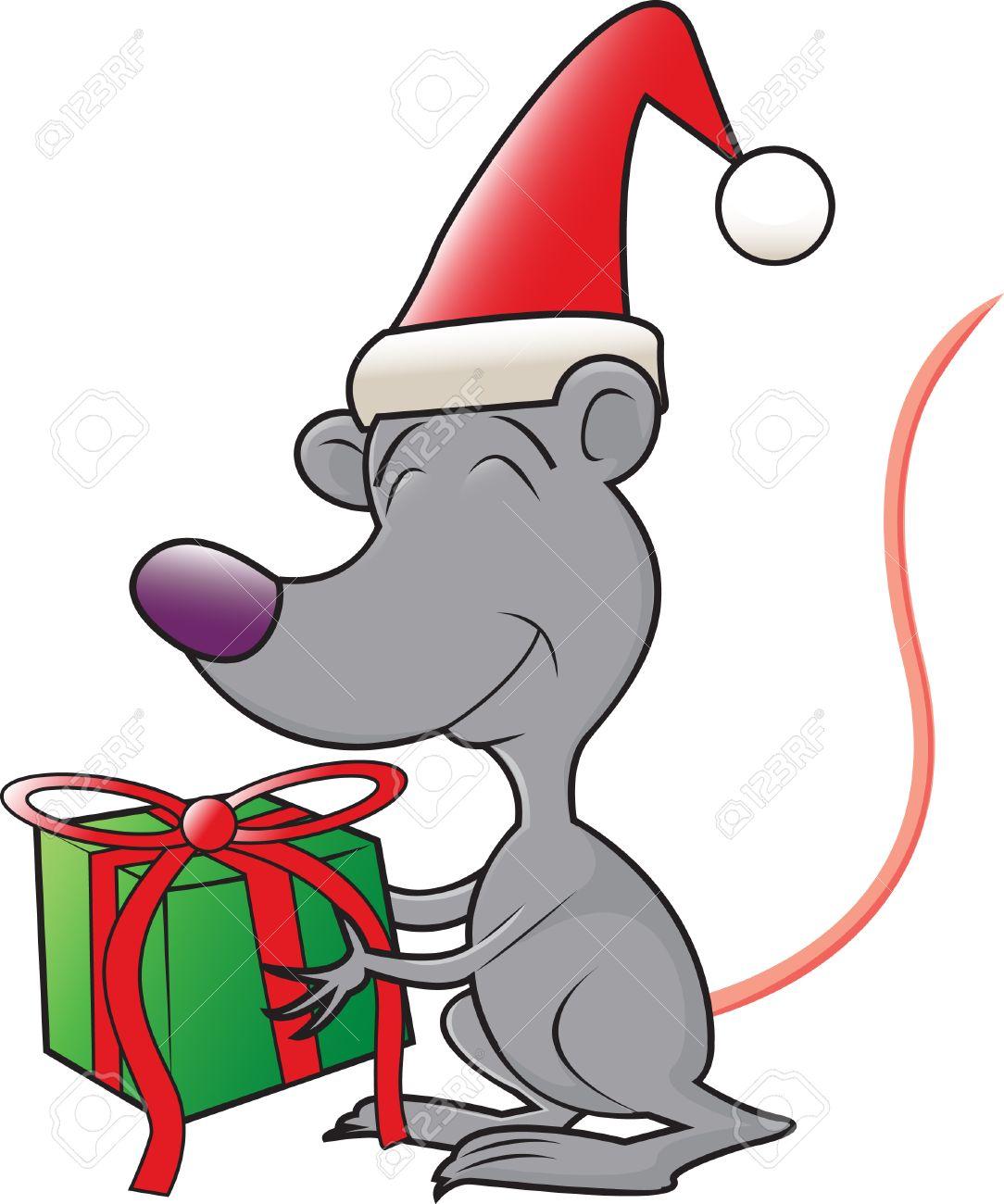 Lachende Cartoon Hund Mit Weihnachtsgeschenk Stock Vektor Art und mehr  Bilder von ClipArt - iStock