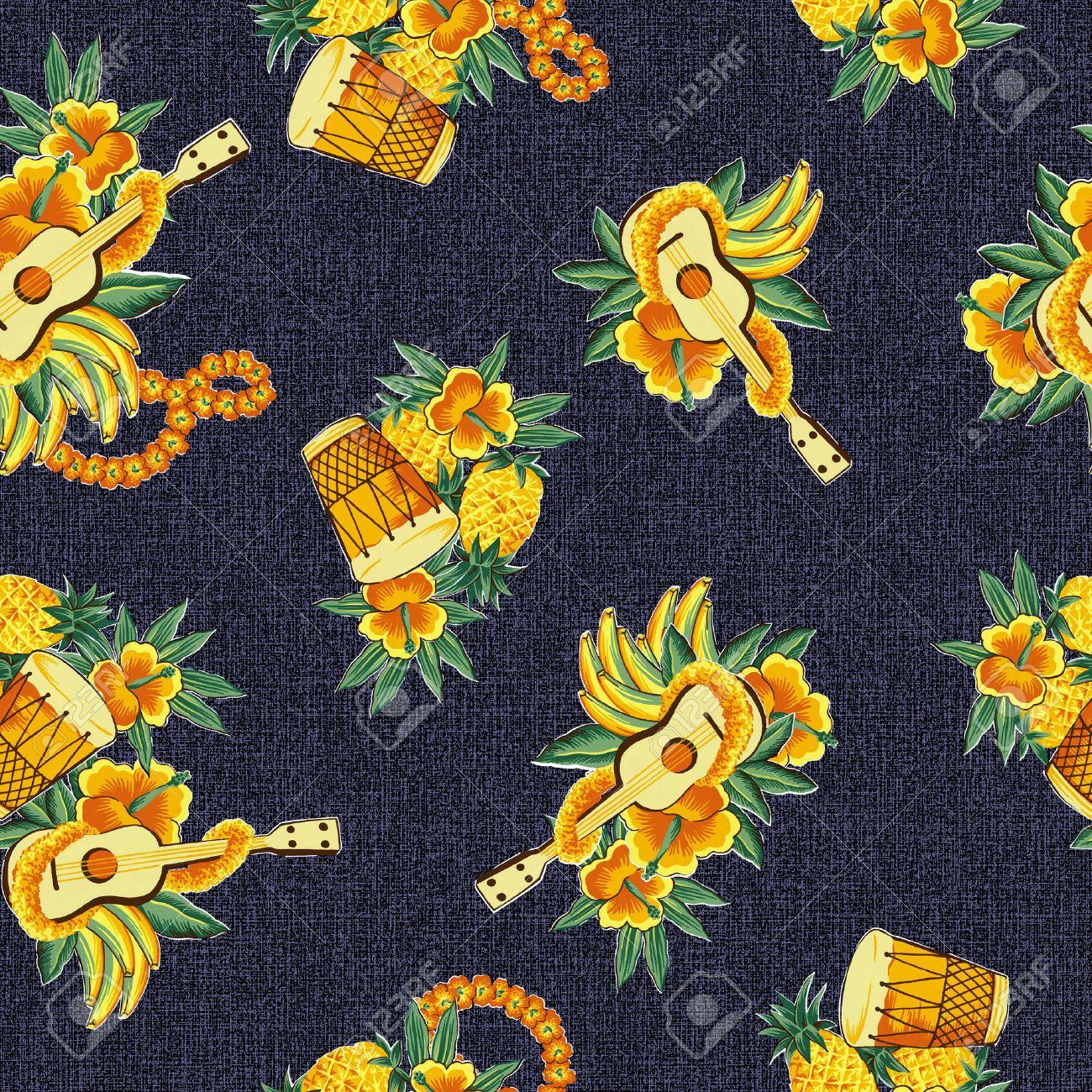 90 Hawaiian Drums Stock Vector Illustration And Royalty Free ...