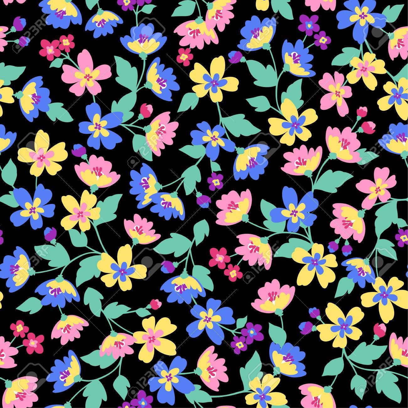 Flower pattern - 35082109