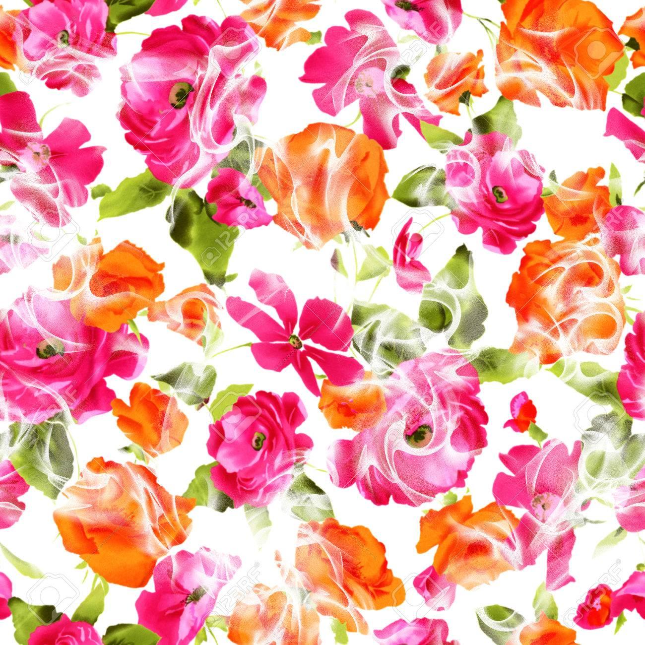 flower pattern - 35274233