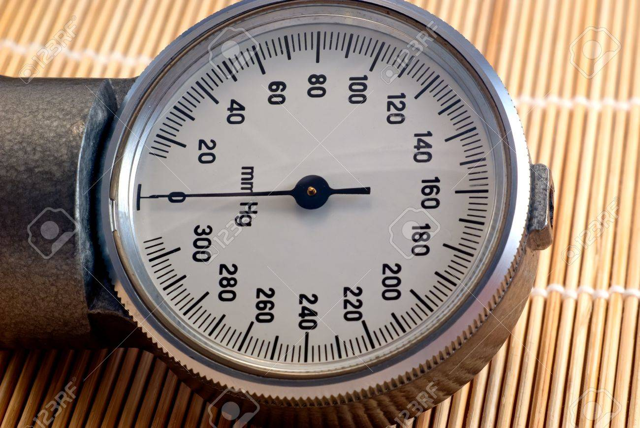Manometric of the old tonometer Stock Photo - 13260900
