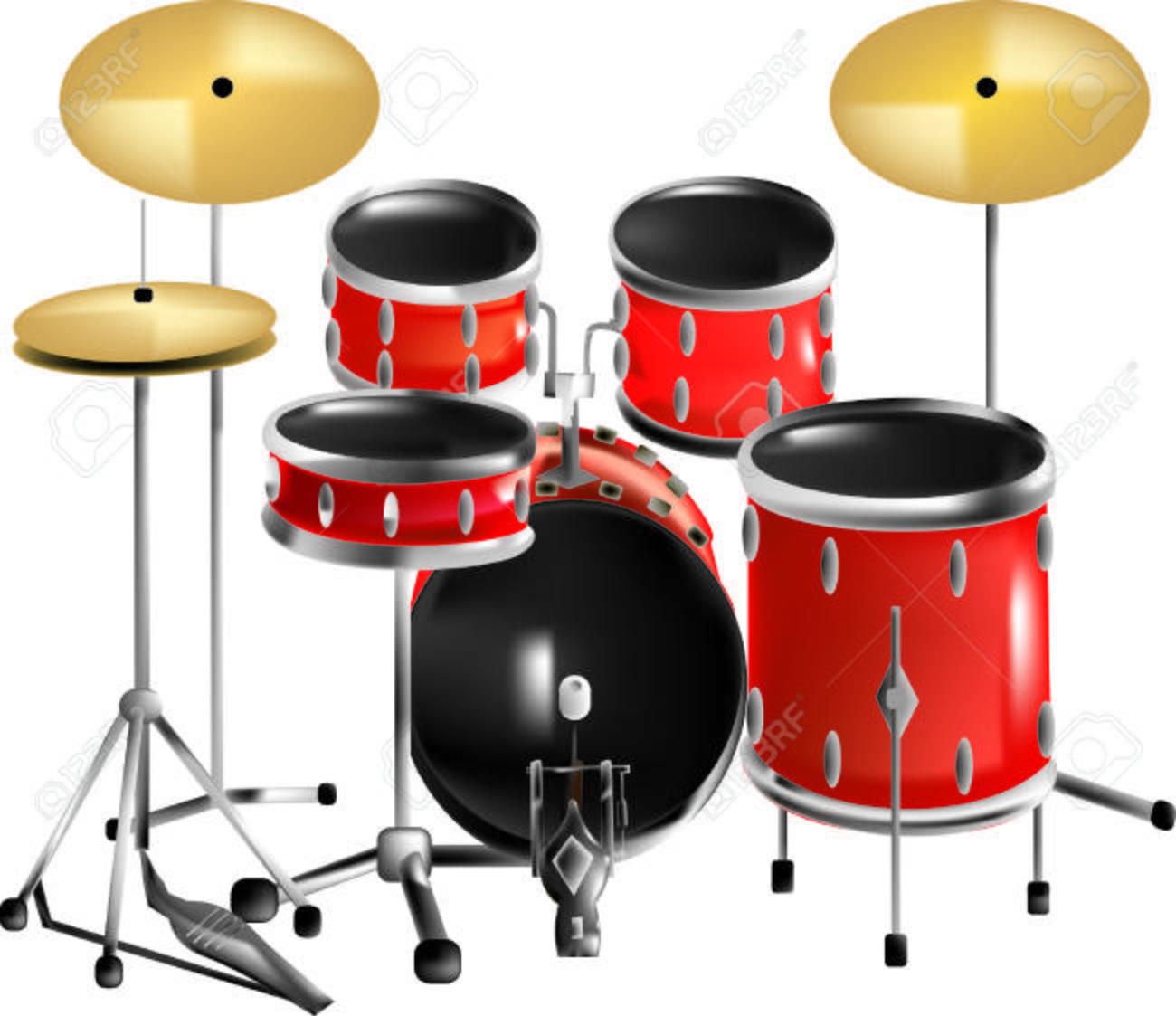 Drum Set Clipart Drum Kit Drums Set