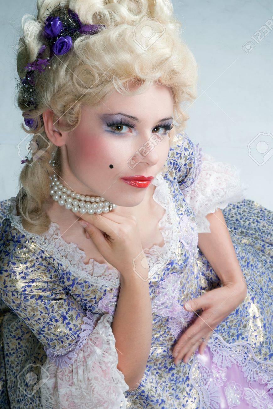 maquillage femme louis xiv